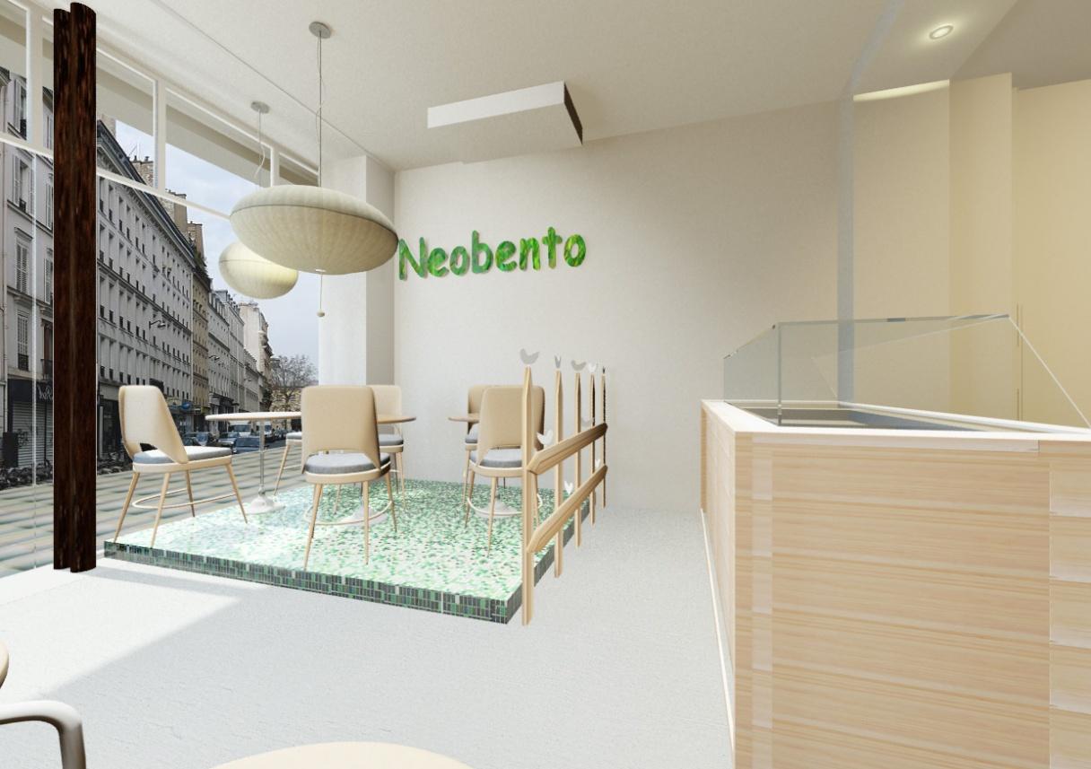Neobento Comptoir image 3D