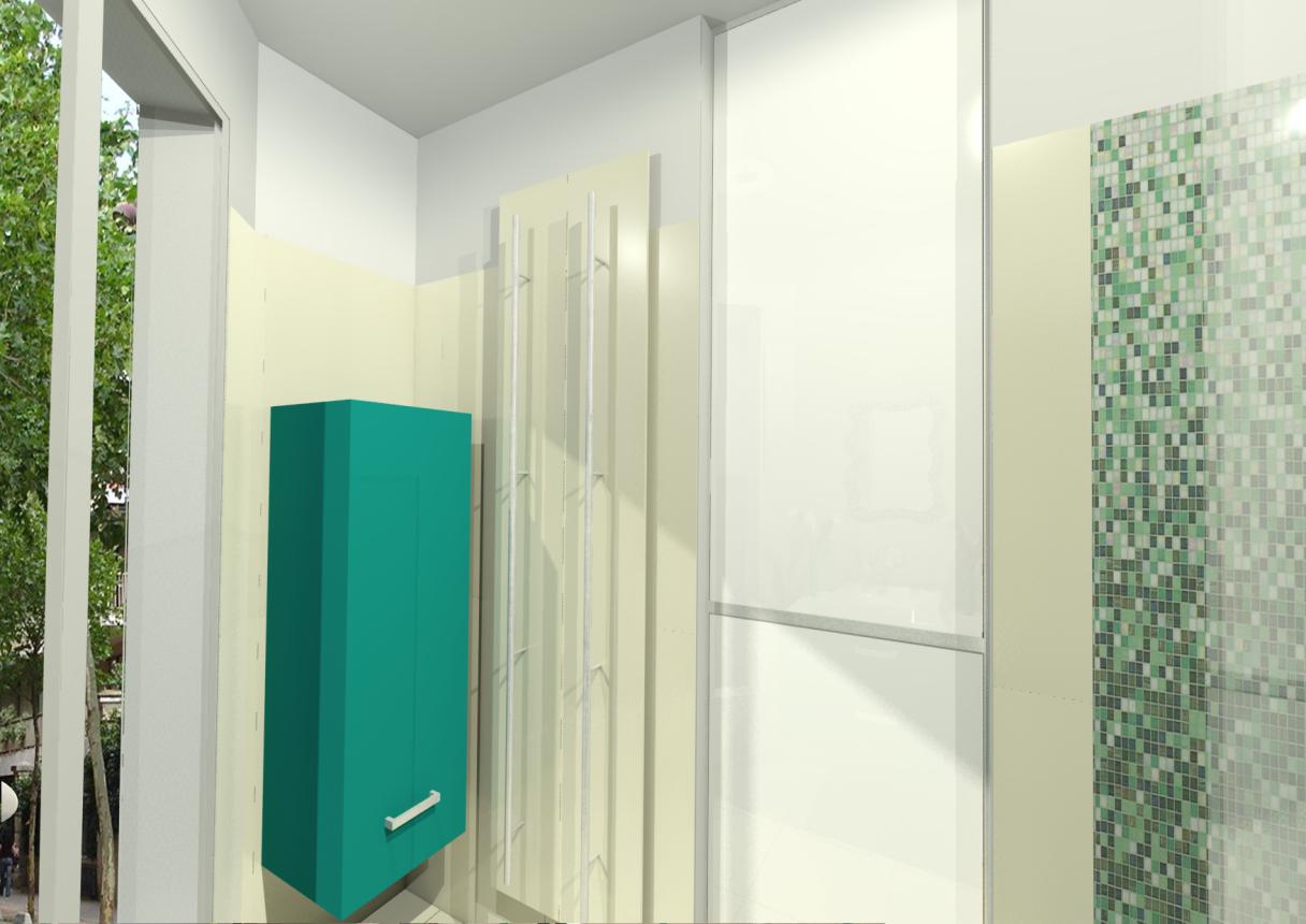 Mobilier Birex, Radiateur sèche serviettes Antrax IT modèle TESO double