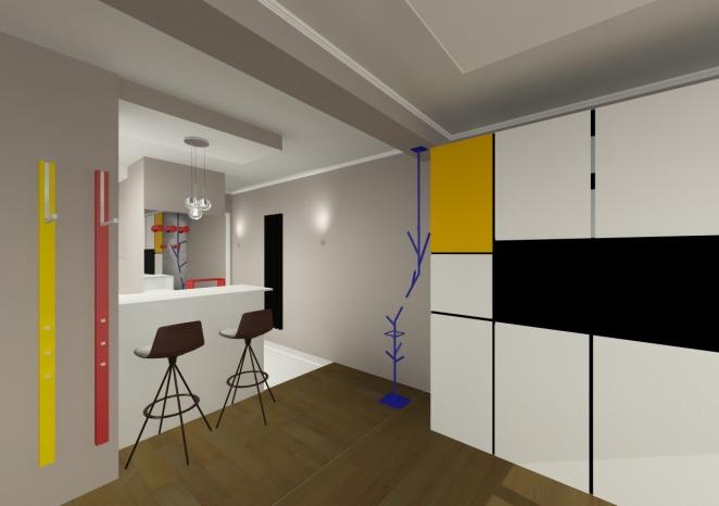 Poncelet Camera Entree+couloir